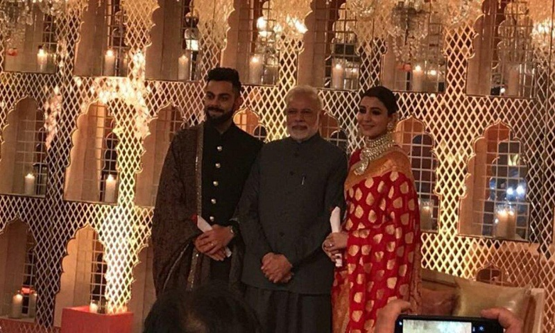 PM Modi, Arun Jaitley attend Virat-Anushka's reception in Delhi
