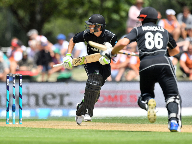 New Zealand makes 325-6 in 2nd ODI vs. West Indies
