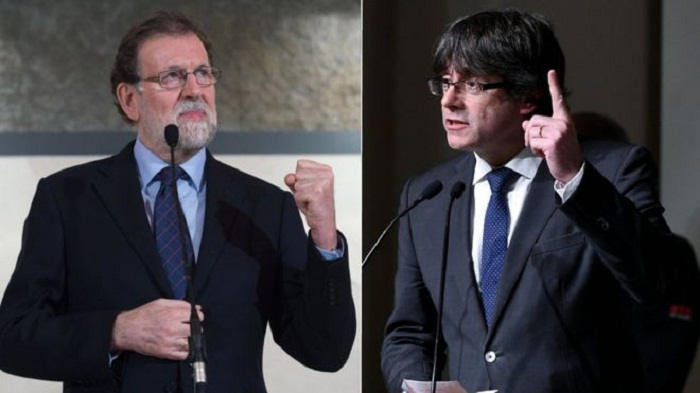 Spain PM Rajoy rejects Puigdemont talks call