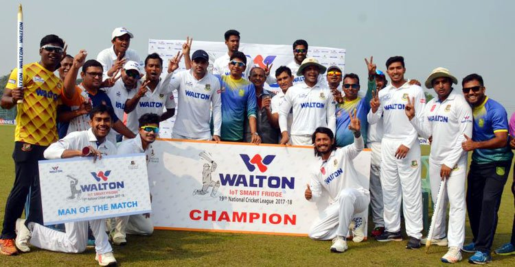 National Cricket: Khulna Division retain title with unbeaten record