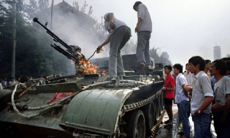 Tiananmen Square protest death toll 'was 10,000'