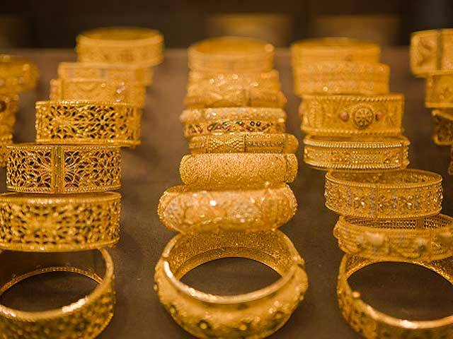 Gold prices hike in local market