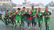 Bangladesh clinch SAFF U15 Women's Championship