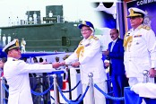 Prime Minister vows to turn Bangladesh Navy into 'Builder Navy'