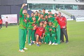 Bangladesh U 19 team to fly for New Zealand on Tuesday