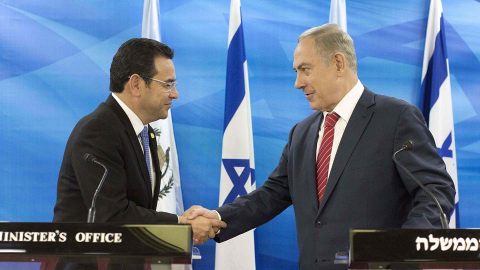 Following Trump's lead, Guatemala to move embassy to Jerusalem