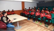 Mashrafe urges Youngsters to play aggressive cricket