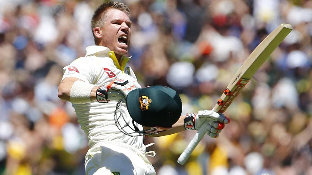 Warner posts Boxing Day Test century after no-ball reprieve