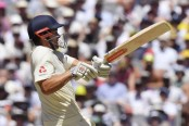England 72-1 at tea in reply to Australia's 327 in 4th Test