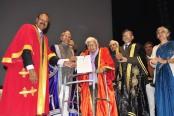 Man earns postgraduate degree in Economics at 98