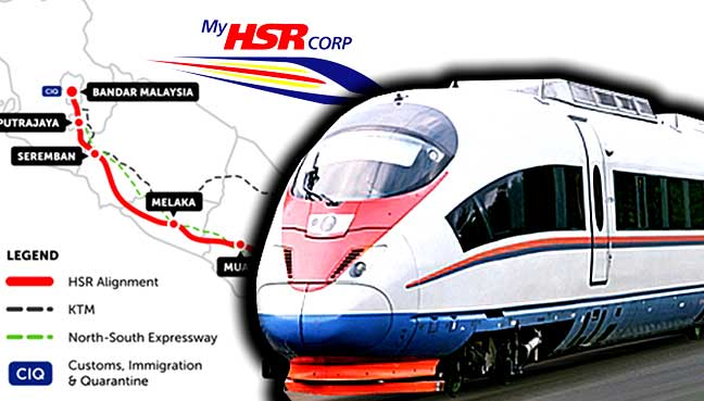 Environmental impact assessment report ready for KL-Singapore HSR