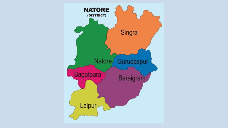 Natore road crash kills father, daughter