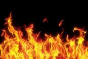 Fire breaks out at city slum