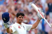 Alastair Cook's 5th double century gives England lead in 4th Ashes Test