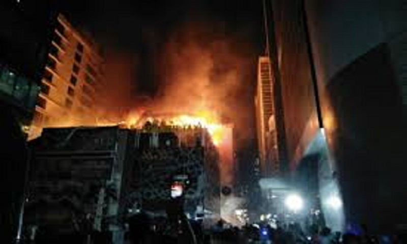 Fire engulfs Mumbai building, killing at least 15 people