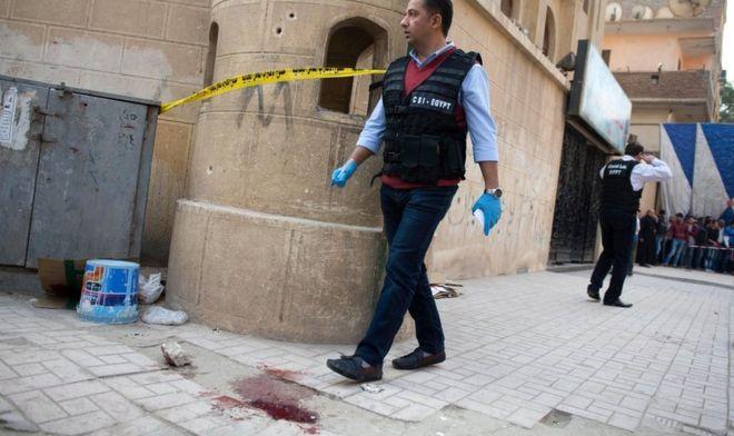 Egypt attack: Nine dead in gun attack on church near Cairo