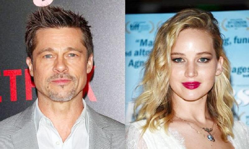 Post split with Angelina Jolie, has Brad Pitt moved on to Jennifer Lawrence?