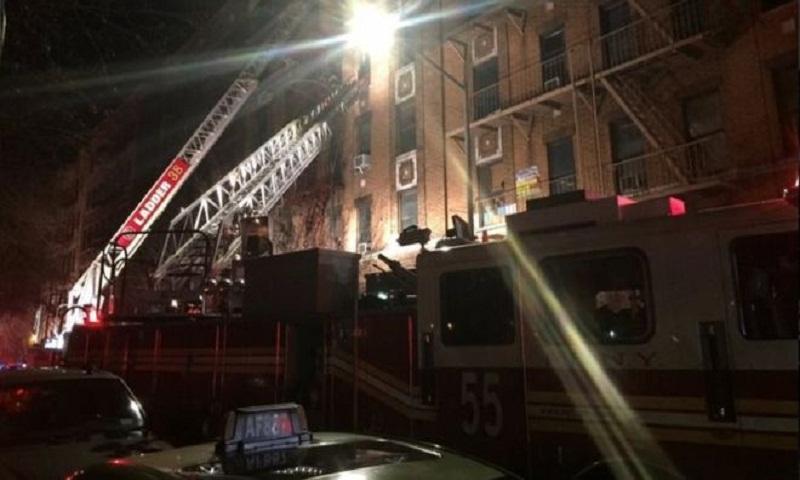 Bronx fire: Twelve dead in New York apartment block blaze