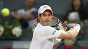 Andy Murray makes tepid return as he loses exhibition match