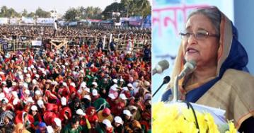 Only Awami League can take forward Bangladesh in all fronts: Prime Minister