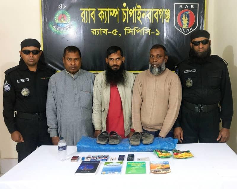3 'JMB men' held in Chapainawabganj