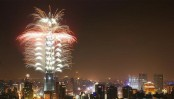 Taiwan celebrates New Year with less fireworks
