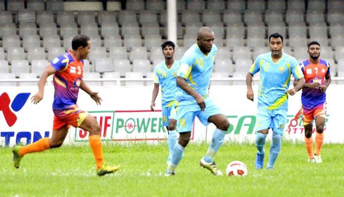 Dhaka Abahani come close to retain BPL Football title