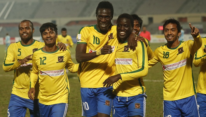 Sheikh Jamal defeat Chittagong Abahani by 3–1 goals