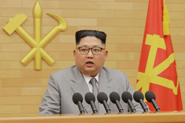 Kim says North Korea participate in 'Peace Olympics'