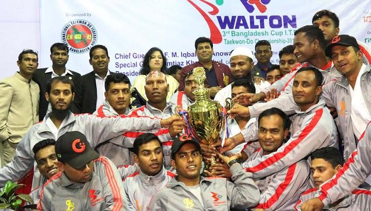 Bashundhara Group clinch title of Bangladesh Cup Taekwondo