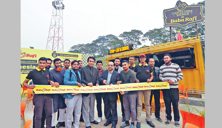 Baba Rafi opens outlet at DITF