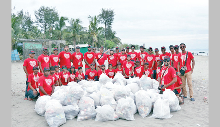 Coca-Cola works for a clean ocean