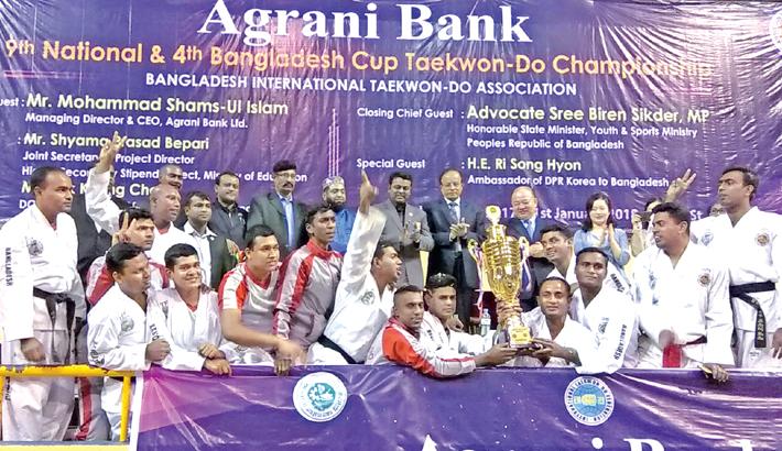 Bashundhara clinch Bangladesh Cup Taekwon-Do title