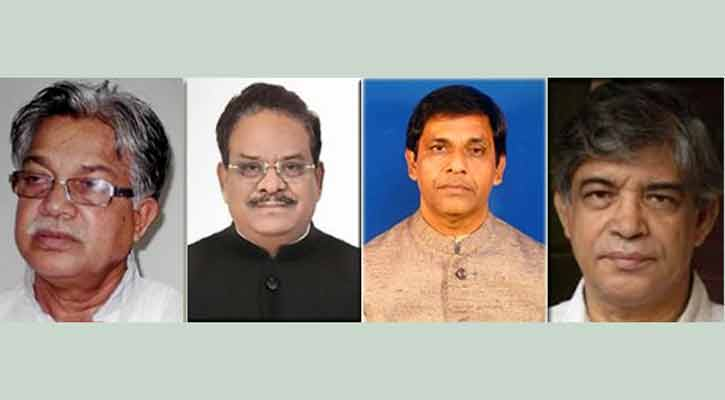 Three new ministers, one state minister sworn in
