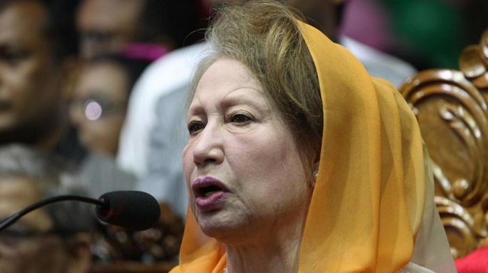 BNP can't be kept away from polls: Khaleda