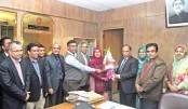 New info secy Nasir Uddin joins office