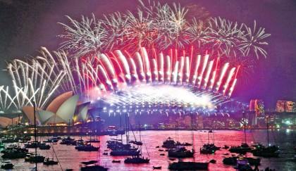 Revellers welcome 2018 across world
