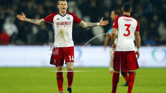 Carroll nets twice as West Ham beats West Brom 2-1