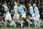Sterling scores after 38 seconds, City beats Watford 3-1