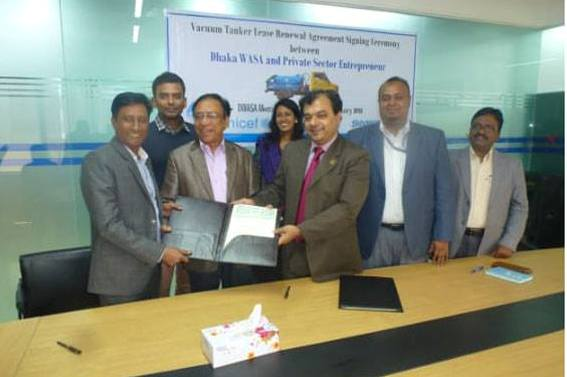 DWASA,GCC sign agreement to ensure modern FSM service in Dhaka City