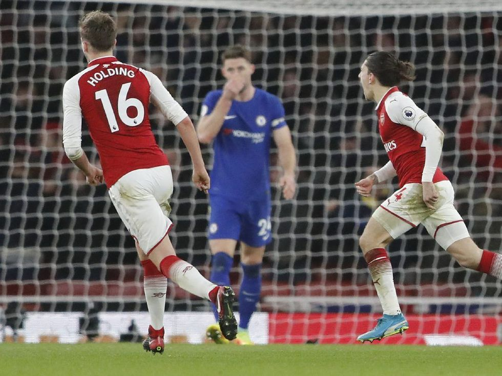 Bellerin rescues Arsenal by clinching 2-2 draw with Chelsea