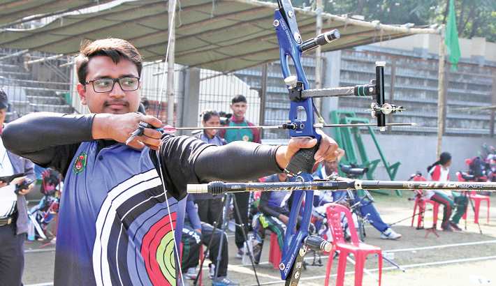 Archer Ruman makes  national record