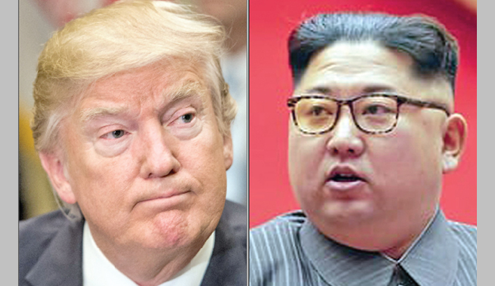 US nuke button 'much bigger' than N Korea, Trump warns Kim