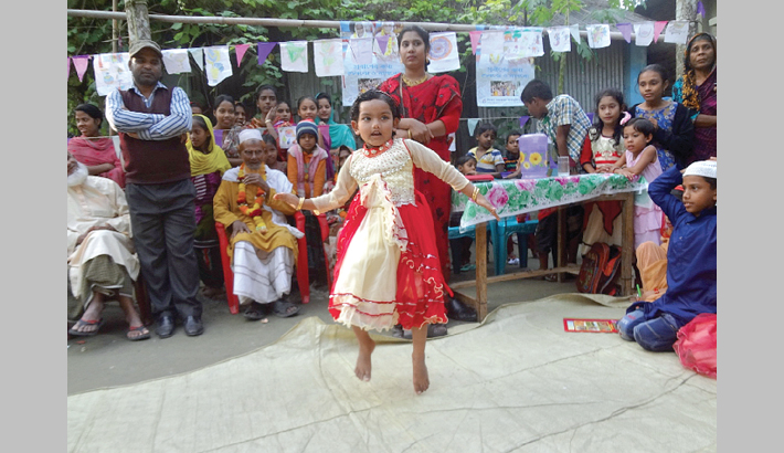 A cultural fest that enthrals rural kids