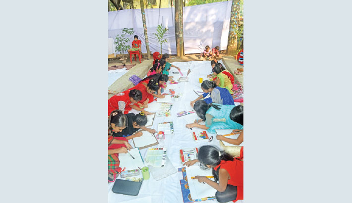 Art Competition Arranged  To Instill Patriotism Into Youths