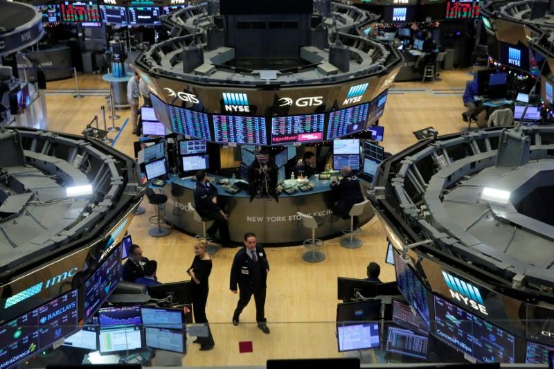 US stocks end at records as oil hits multi-year high