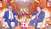 Indian envoy  Shringla meets  president