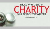 Inspiration for giving charity