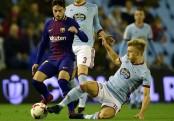 Barcelona held to cup draw by Celta Vigo