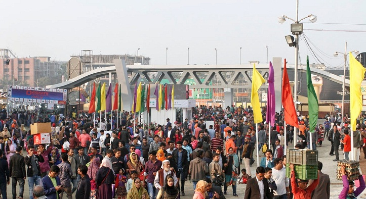 DITF draws large crowd on first weekend of New Year